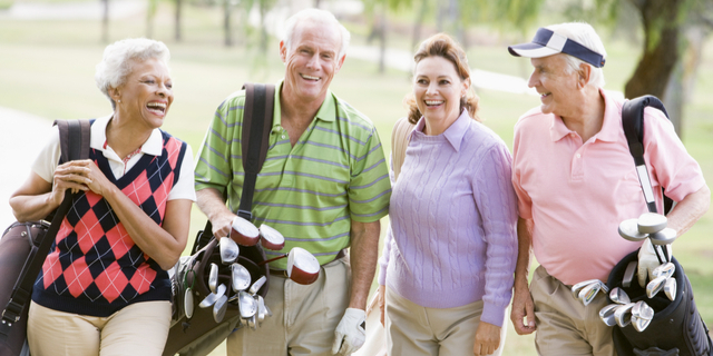 4 Health Benefits for Senior Golfers