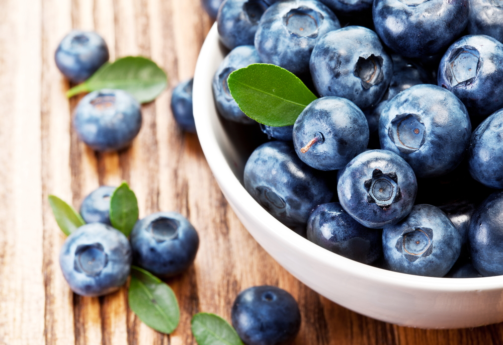 Reduce Your Blood Pressure with Blueberries