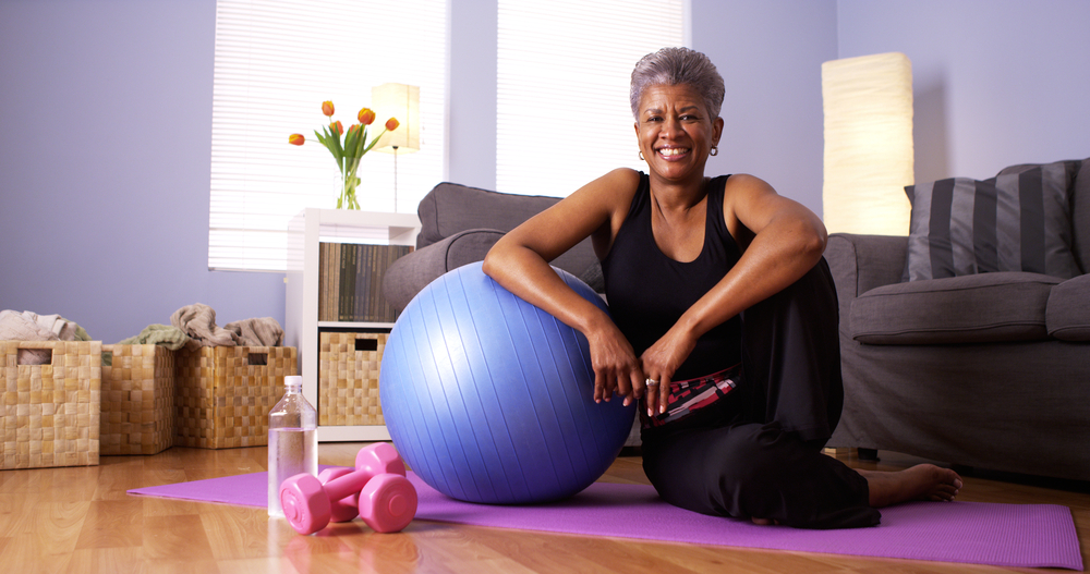 No Time for the Gym?  Try These Chair Exercises at Home