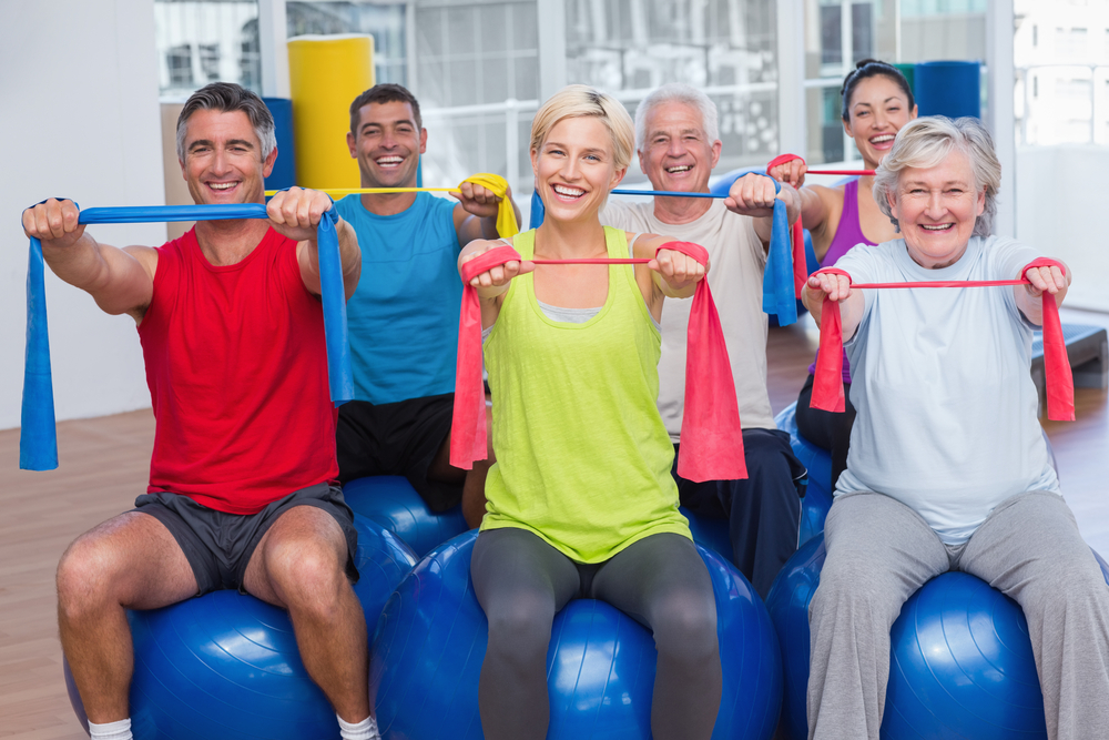 Senior-Certified Fitness Classes