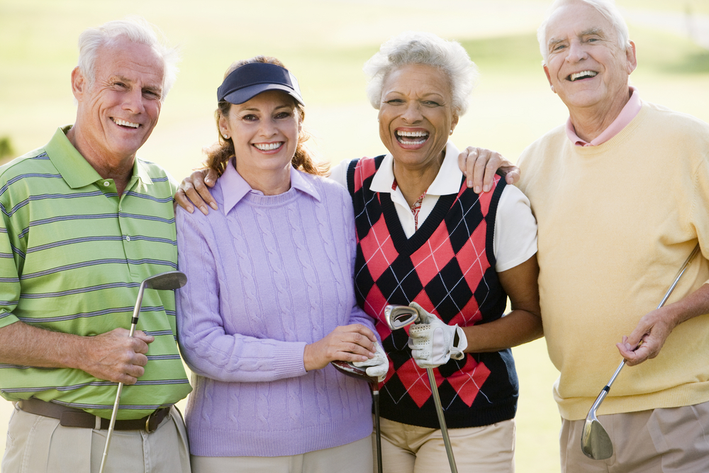 The Many Health Benefits of Golf for Seniors