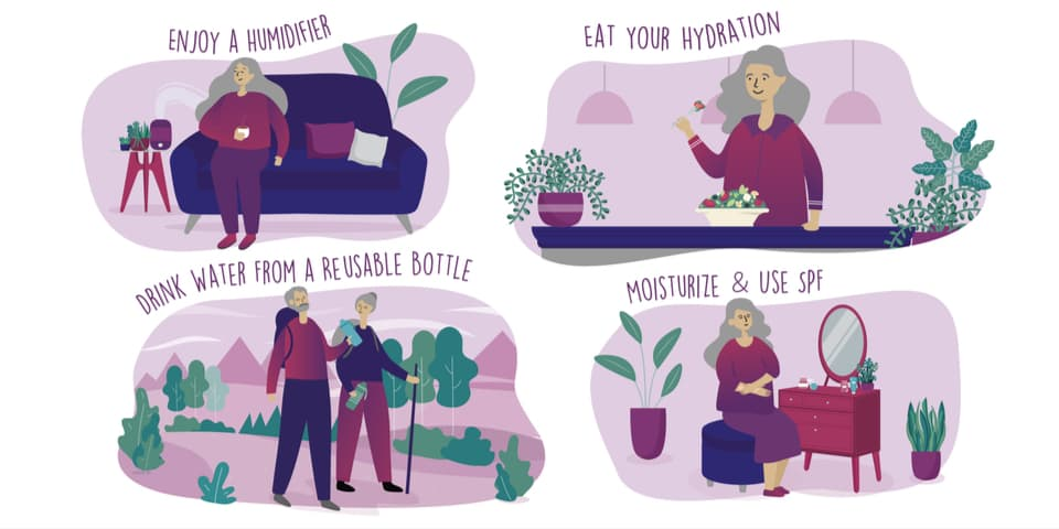 Self-Care for Seniors: Winter Hydration