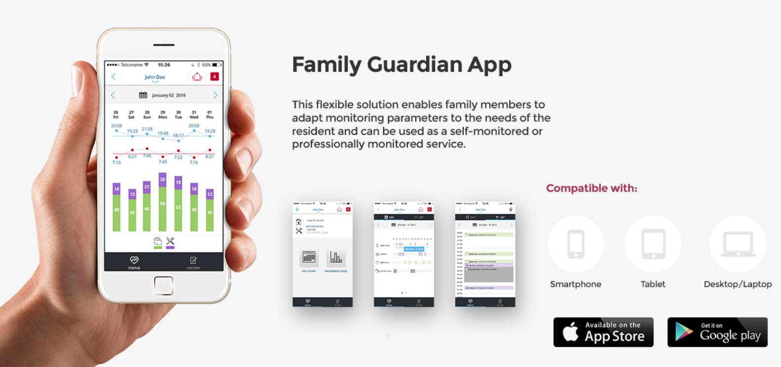 Family Guardian mobile app